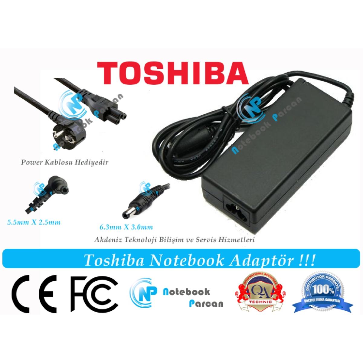 Toshiba pa3715u-1aca Adaptör Şarj Aleti
