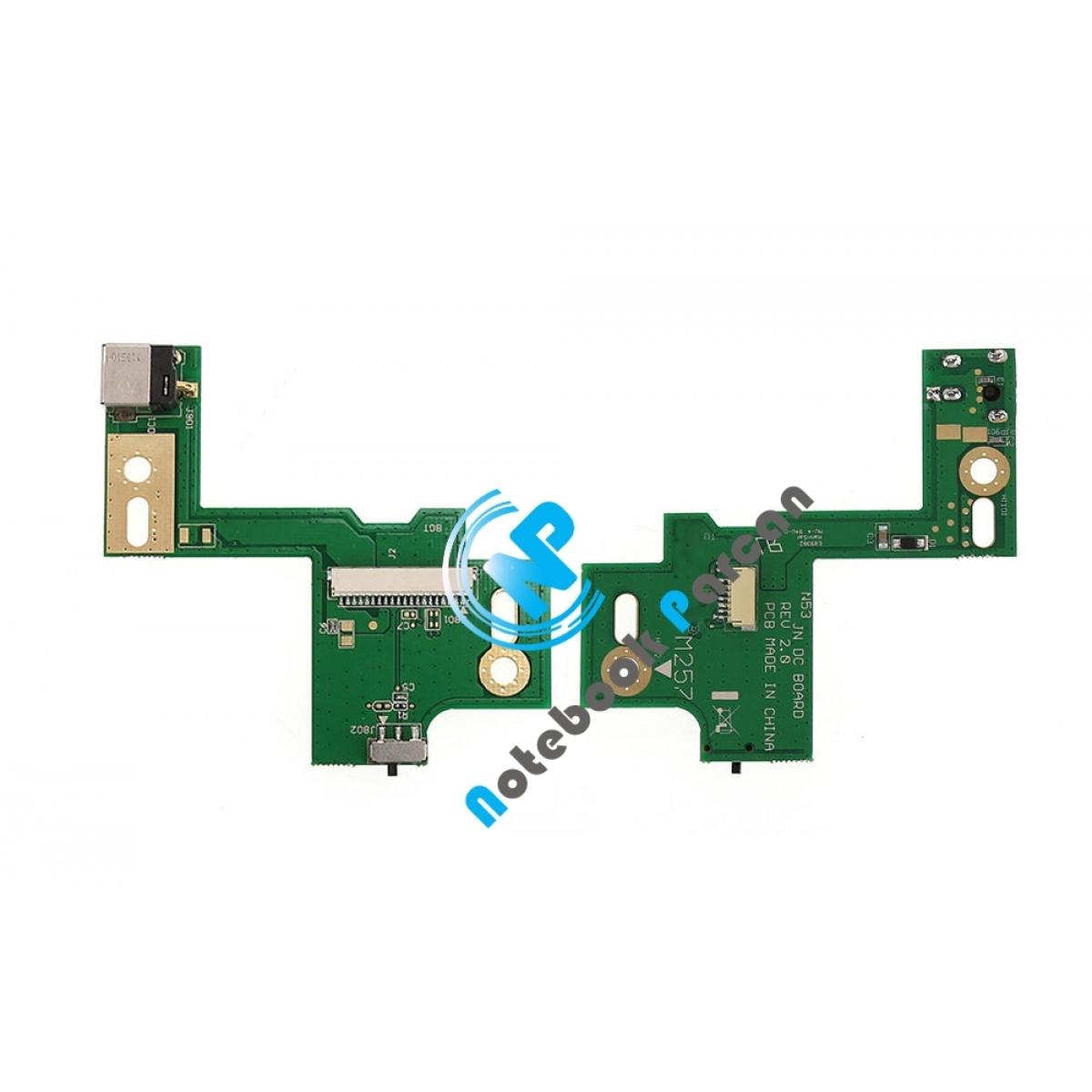 Asus N53 Power Board DC Jack