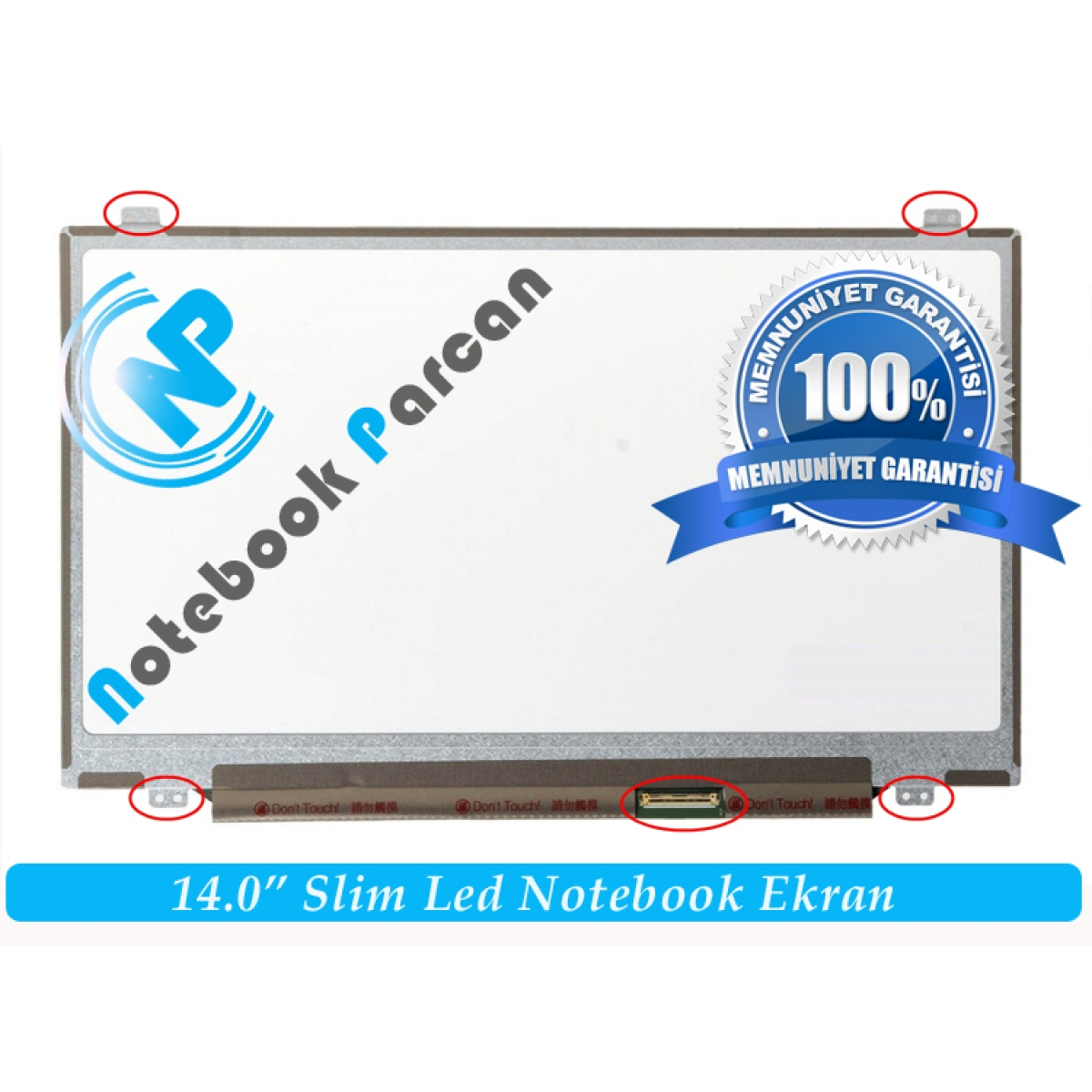 Acer Aspire 4553G Notebook Ekran Panel