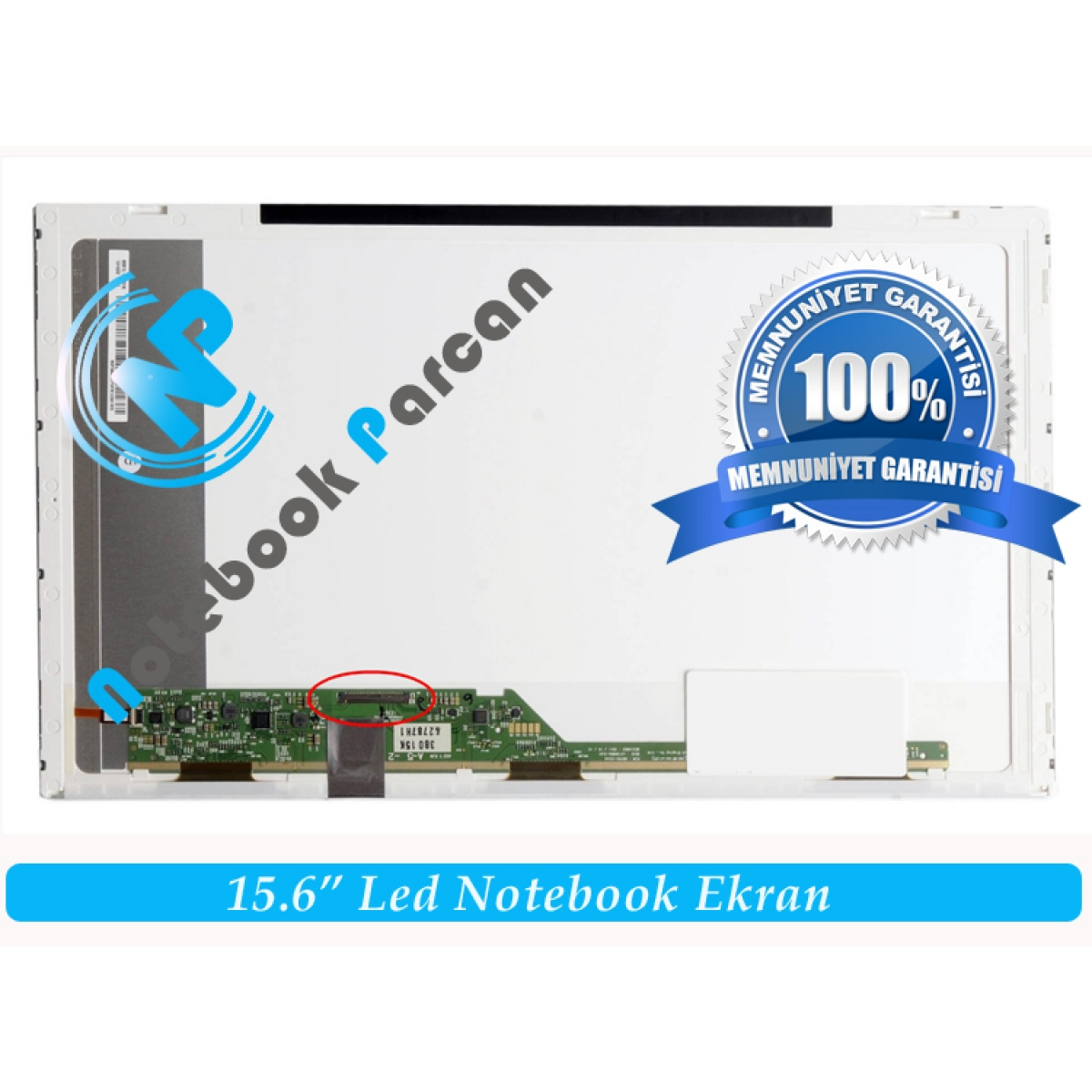 Toshiba Satellite C655D-S5135 Ekran 15.6 Led Pa
