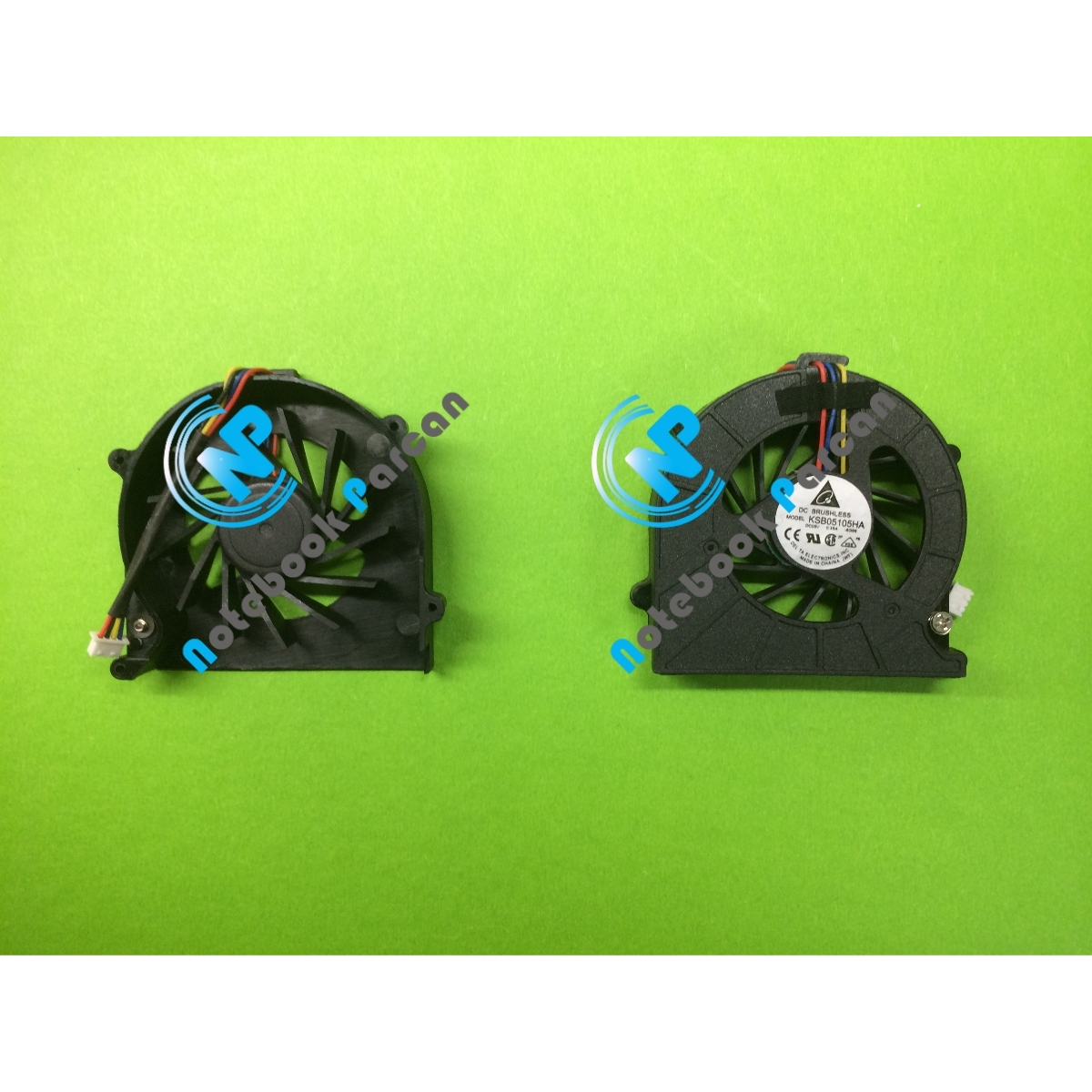 Toshiba KSB05105HA Fan 4 Pin